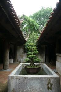 タイフォン寺の光庭