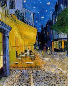 レストラン・ヴァン・ゴッホの黄色の外観