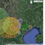 ハノイ周辺の地震